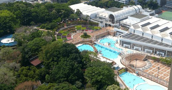 九龍公圍游泳池外觀,卓越游泳會游泳班上課時的地點