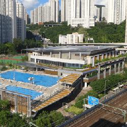 觀塘游泳池外貌-室外副池、習泳池及日光浴場