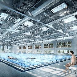 摩士公園室內游泳池((立法會文件)