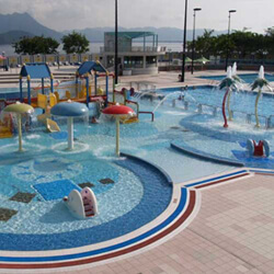 馬鞍山游泳池內的嬉水池