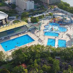 馬鞍山游泳池遠景