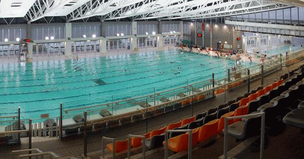 中山紀念公園游泳池-主池,卓越游泳會游泳班上課時的地點