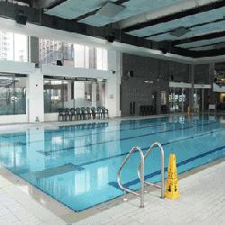 中山紀念公園室內副池,卓越游泳會游泳班上課時的地點