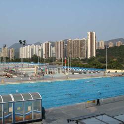 沙田賽馬會游泳池主池