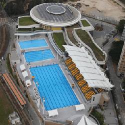 屯門西北游泳池-鳥瞰圖