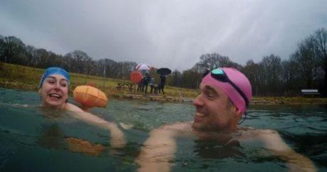 游冬泳的好處,可治療抑鬱症